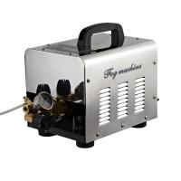 Quality 45 nozzles high pressure misting system fog machine for commercial use with timer for sale