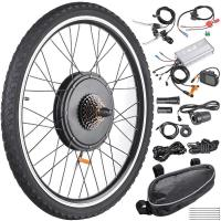 China 48V 26 Inch Rear Wheel Electric Bicycle Motor Kit , Electric Motor Kits For Bicycles on sale