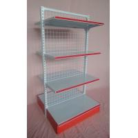 Quality Storage Metal Wire Supermarket Display Shelving , Metallic Supermarket Drug Store Furniture for sale