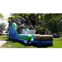 Quality Giantic 22' Rockin' Rapids Inflatable Water Slide For Backyard / Outdoor for sale