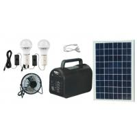 Quality 20w portable  solar power system solar energy off-grid solar power with mp3 and radio for Africa for sale
