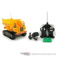 Quality Re-7103 Heavy Machine Tracked Mini Dump Truck Electric Rtr RC Construction Vehicle for sale