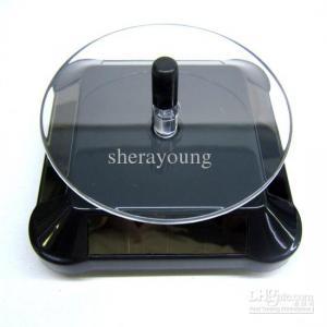 Quality solar display turntable,rotary display turntable for sale