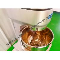 Quality Stainless Steel Commercial Planetary Mixer 3 Speed 10 Liter For Cake Bakery for sale