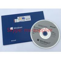 Quality Windows 7 Pro Product Key COA License Sticker OEM Online Activation Stable Business for sale
