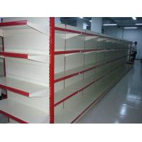 Quality Store Supermarket Display Shelving / Metal Gondola Storage Shelf System for sale