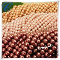 Quality Chenzhuxi muti colored glass beads manufacturer for sale