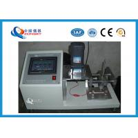 Quality Wire Cover Abrasion Testing Equipment For Communication Cable Insulation Skin for sale
