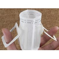 Quality Convenient Hanging Ear Disposable Coffee Filter Bags With Heat Seal Packaging for sale