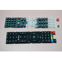 China Eco Friendly Conductive Silicone Rubber Keypad Waterproof With Remote Control on sale