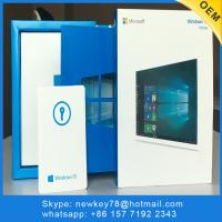 Quality Microsoft Windows 10 Home OEM 32Bit / 64Bit Product Key Retail Boxed Free Shopping for sale