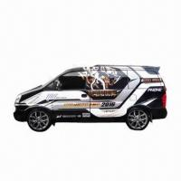 Quality Large Format Car/Vehicle/Bus/Van Body Sticker, Can be Removed for sale