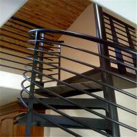 ... Buy Indoor / Outdoor Powder Coated Black Metal Spiral Staircase Price /  Prefab At Wholesale Prices