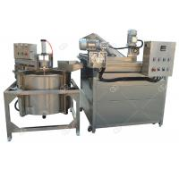 Quality Multi - Functional Chicken Automatic Fryer Machine , Continuous Namkeen Fryer Machine for sale