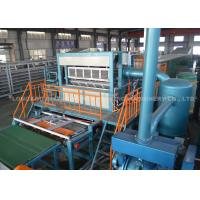 Quality Egg Tray Pulp Molding Machine , Egg Tray Equipment With Rotary Type for sale