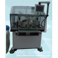 China Commutator face roundness turning machine armature  com fine Lathe with 2 axis servo motor WIND-CT-TH4 on sale