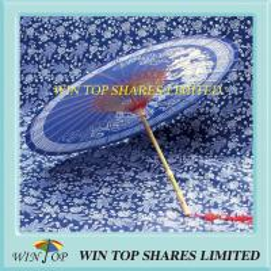 Quality China dragon culture blue oil paper umbrella for sale
