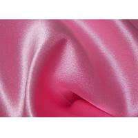 China Anti Static Pure Mulberry Silk Fabric 43 / 44 Width With Satin Type on sale
