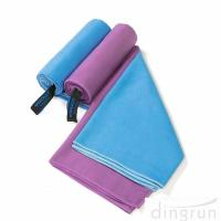 Quality Quick Dry Super Absorbent Lightweight Microfiber Towel for Swimming Yoga Beach for sale