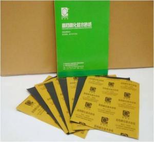 China Carpoly Top Grade Carborundum Abrasive Paper on sale