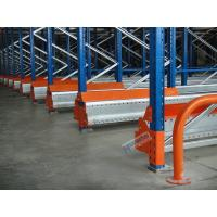 Quality Semi Automatic Radio Shuttle System High Density Pallet Storage Q235B Meterial for sale