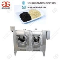 Quality High Capacity Automatic Sesame Seed Roasting Machine Gas Heating with Low Price for sale