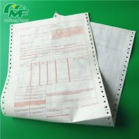 Quality Ncr Digital Carbonless Paper , Computer Printing Carbon Copy Paper Sheets OEM for sale