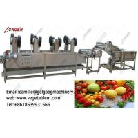 Quality Commercial high efficient fruit and vegetable washing and dry processing machine for sale