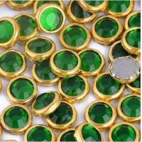 Quality SS20 Machine cut MC iron on crystal stone hotfix strass Ring stone Glass beads for sale