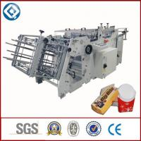 Quality Food Container Disposable Carton Making Machine With Glue Sealing for sale