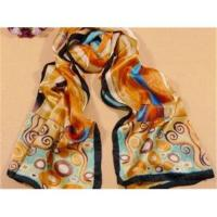 Quality colourful long silk scarf/shawl for sale