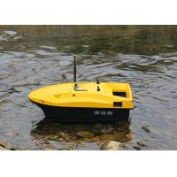 Quality DEVC-113 Yellow RC Fishing Bait Boat autopilot style rc model battery power for sale