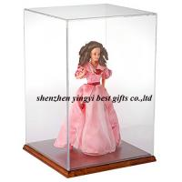 Quality Wholesale acrylic display case for doll for sale