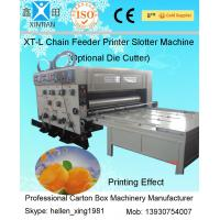 Quality Recycled Cardboard Box Paper Carton Making Machine For Packaging Printing for sale