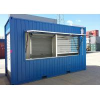 China Steel Structure Modified Shipping Containers Creative Ways To Showcase New Products on sale
