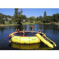 Quality Rave Bongo Water Trampoline Parks ,  Inflatable Water Games , Water Park Games for sale