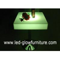 Quality Bar furniture illuminated cocktail table top / led end tables for pub / disco / club for sale