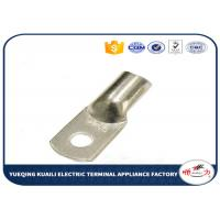 Quality Copper Cable Lugs JG Series In Terminals , Non insulated Spade Copper Wire Lugs for sale