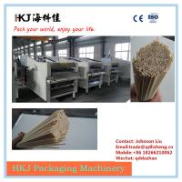 Quality Durable Pasta Cutting Machine / Industrial Pasta Machine With Rod Dropping Device for sale