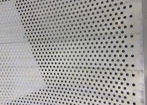 Quality 304 316 Micron Round Hole Decorative Punched 3mm Perforated Stainless Steel Sheet for sale