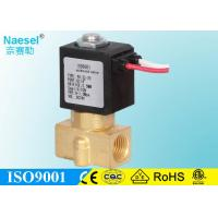 Buy cheap Flow Adjustable Solenoid Operated Valve For Public Toilet 1 / 4 G Thread from wholesalers