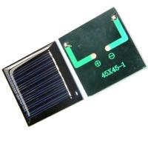 Quality 0.3 V DIY Mini Epoxy Resin Solar Panel Charged LED Lights Keychain Pendant for sale