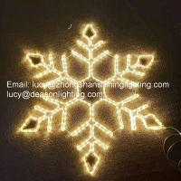 Quality giant led snowflake for sale