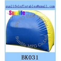 Buy cheap inflatable half round paintball bunker Flexible combination from wholesalers