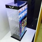 Quality Acrylic Material high quality acrylic e-liquid display shelf for sale