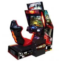 Quality crazy speed 32 LCD coin operated electronic simulator driving car racing game machine racing games for kids for sale