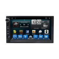 Quality Android 7 inch Universal  Central Multimidia GPS Glonass Device Car RDS Radio Player for sale