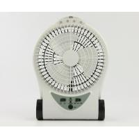Small Portable Rechargeable Battery Operated Fan With Adjustable Base