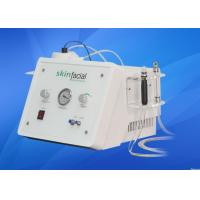 China Max Vacuum Power 100Kpa Reduce acne Diamond Microdermabrasion Machine For Home , Clinic on sale