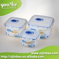 China 3pcs Airtight Food Grade Plastic Home Containers for Food Storage Wholesale on sale